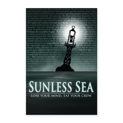 Sunless Sea Poster - Poster 16 x 24 (40x60 cm)