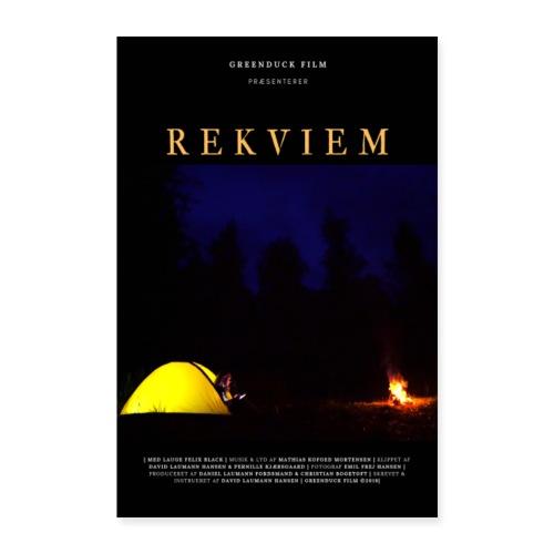 Rekviem Plakat - Poster 40x60 cm