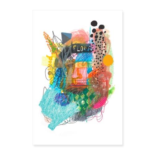 FLORA - Poster 40x60 cm