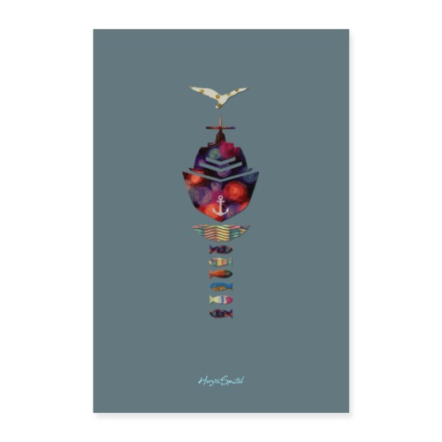 Limited Plakat grey - Poster 40x60 cm