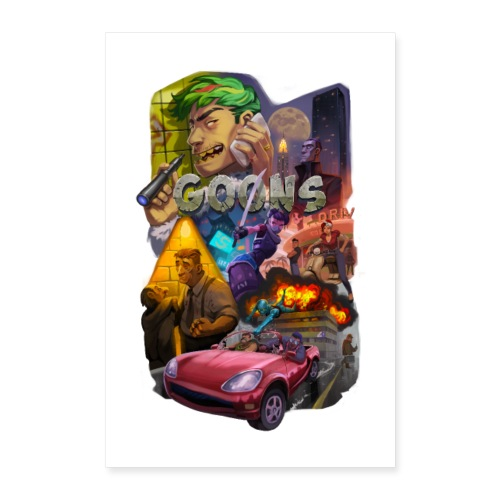 Goons Poster - Poster 40x60 cm