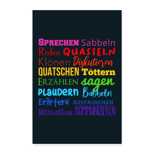 Poster Rainbow - Poster 40x60 cm