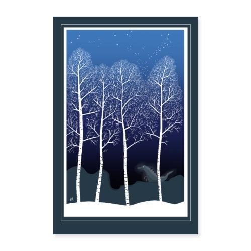 Talvi - Juliste 40x60 cm