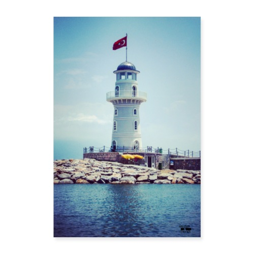 Leuchtturm Reisen Outdoor / Foto - Events&Reisen - Poster 40x60 cm