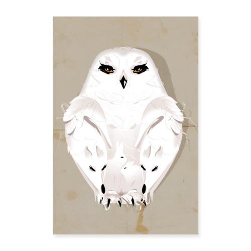 Wintertier - Poster 40x60 cm