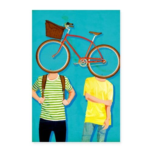 Bikers - Poster 40x60 cm