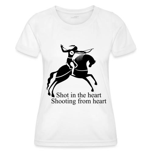Shot in the Heart - Women's Functional T-Shirt