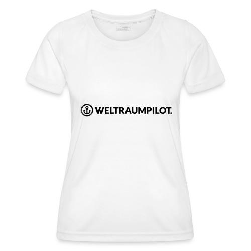 weltraumpilotquer - Frauen Funktions-T-Shirt