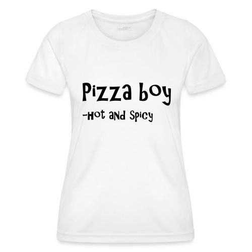 Pizza boy - Funksjons-T-skjorte for kvinner