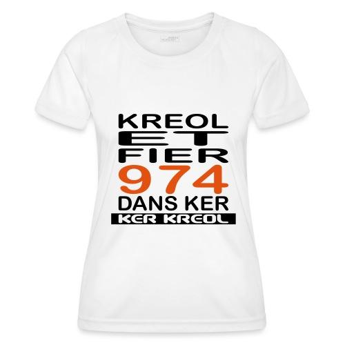 Kreol et Fier - 974 ker kreol - T-shirt sport Femme