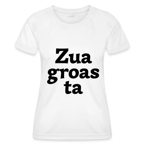 Zuagroasta - Frauen Funktions-T-Shirt