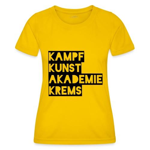 KKA 2016 lifestyle back2 - Frauen Funktions-T-Shirt
