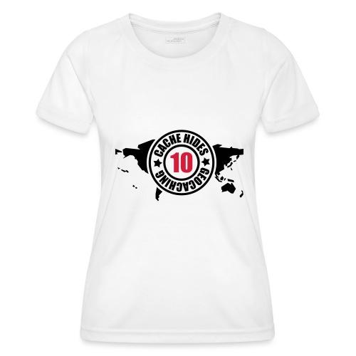 cache hides - 10 - Frauen Funktions-T-Shirt