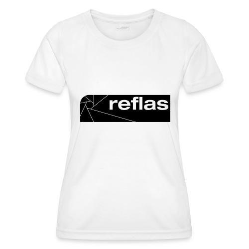 Reflas Clothing Black/Gray - Maglietta sportiva per donna