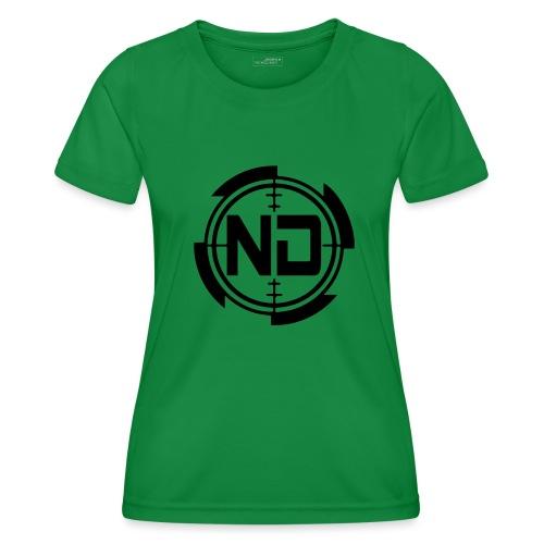 ND CROSSHAIR PALLO 2017 - Naisten tekninen t-paita