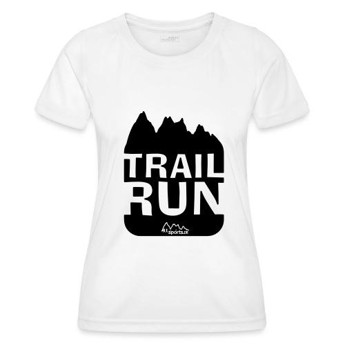 Trail Run - Frauen Funktions-T-Shirt