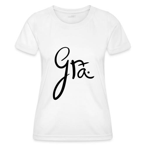 logo-trans-ai - Functioneel T-shirt voor vrouwen