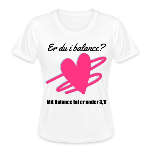 I Balance Design - Funktionsshirt til damer