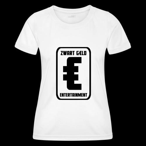 ZwartGeld Logo Sweater - Functioneel T-shirt voor vrouwen