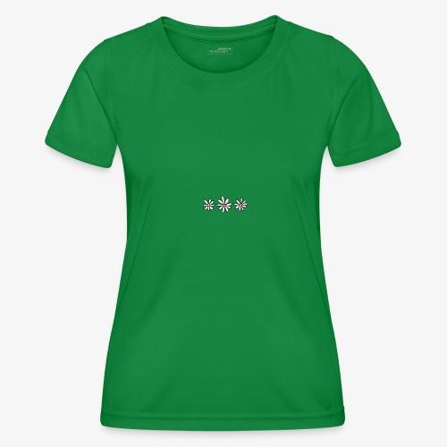 Flower Tee - Functioneel T-shirt voor vrouwen