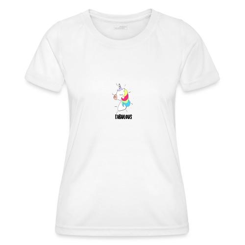 Fabulous Unicorn - T-shirt sport Femme