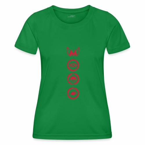 Mosso_run_swim_cycle - Maglietta sportiva per donna