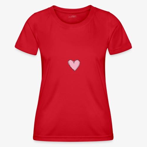 Pink Love Tee - Functioneel T-shirt voor vrouwen