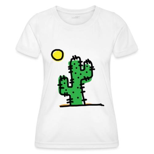 Cactus single - Maglietta sportiva per donna