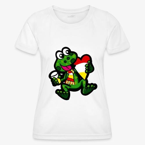 Oeteldonk Kikker - Functioneel T-shirt voor vrouwen