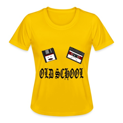 Old School Design - Frauen Funktions-T-Shirt