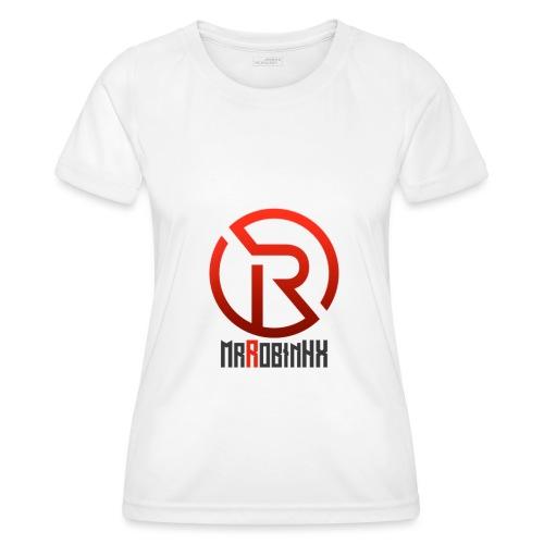 MrRobinhx - Funksjons-T-skjorte for kvinner