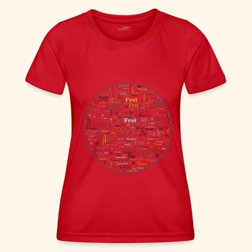 Ich bin - Frauen Funktions-T-Shirt