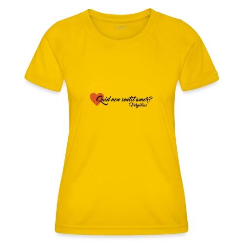 Virgilio - Maglietta sportiva per donna