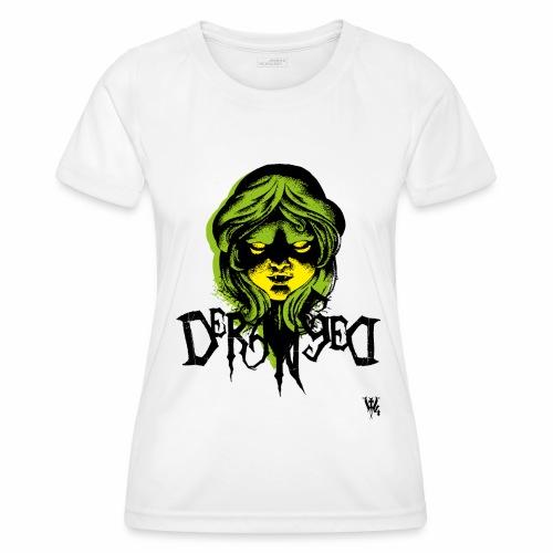 DerangeD - Tattoo Metal Horror Vampire - Funktionsshirt til damer