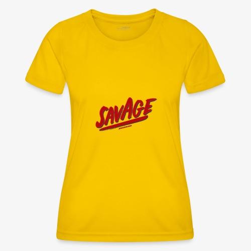 savagjonssongang - Funktions-T-shirt dam