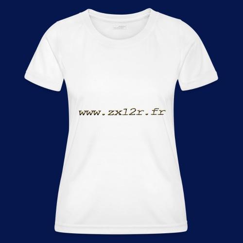 www zx12r fr OR - T-shirt sport Femme