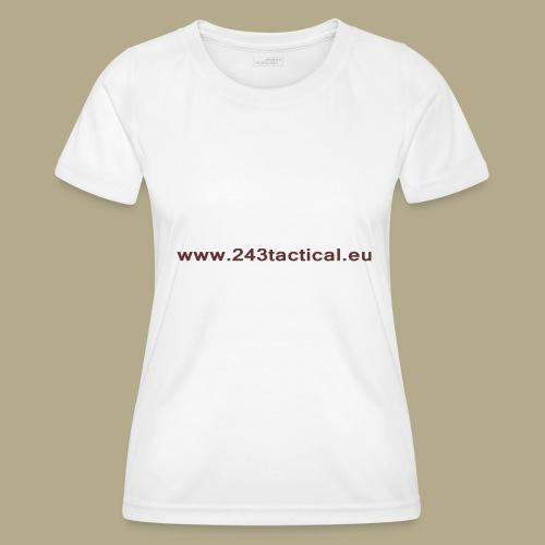 .243 Tactical Website - Functioneel T-shirt voor vrouwen