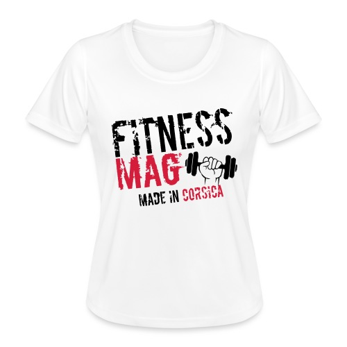 Fitness Mag made in corsica 100% Polyester - T-shirt sport Femme