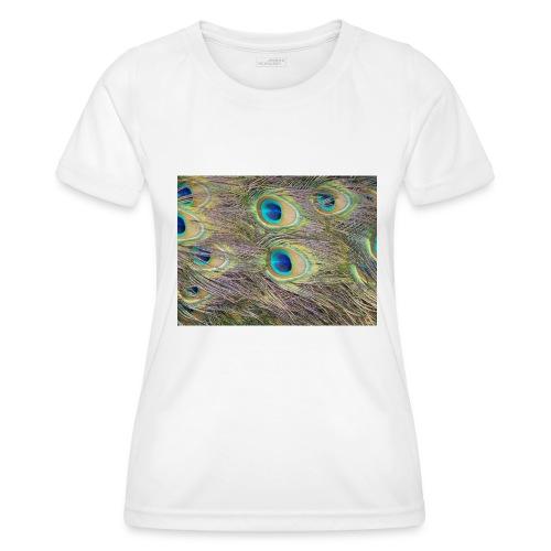 Peacock feathers - Naisten tekninen t-paita