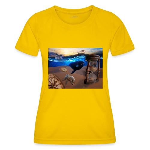 Wodne Przemyślenia - Funkcjonalna koszulka damska