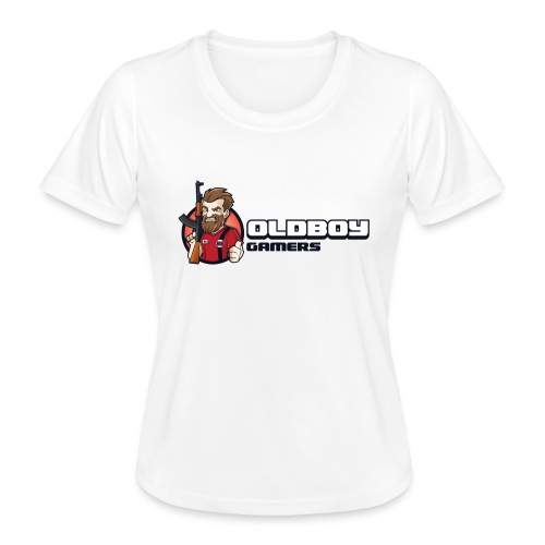 Oldboy Gamers Fanshirt - Funksjons-T-skjorte for kvinner