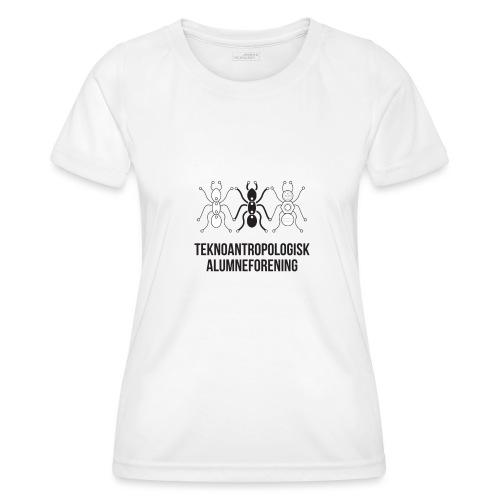 Teknoantropologisk Støtte T-shirt alm - Funktionsshirt til damer