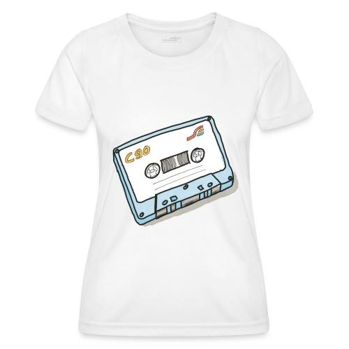 Cassette - Frauen Funktions-T-Shirt