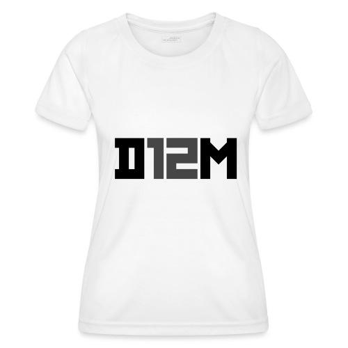 D12M: SHORT BLACK - Functioneel T-shirt voor vrouwen