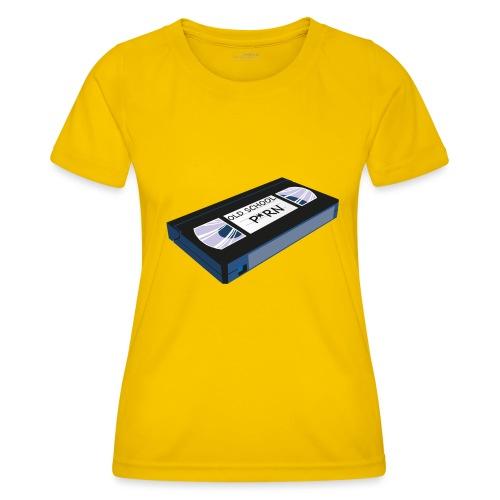 OLD SCHOOL P * RN vhs - T-shirt sport Femme