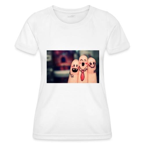 słodkie palce - Funkcjonalna koszulka damska