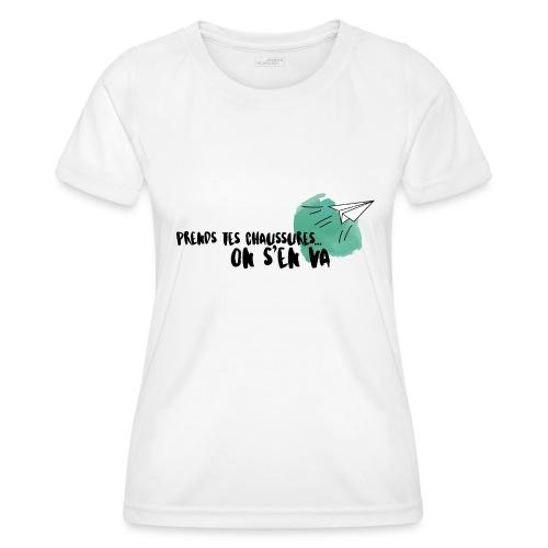 test - T-shirt sport Femme