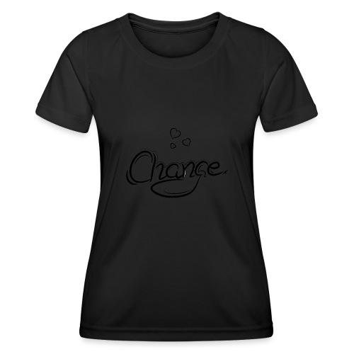 Änderung der Merch - Frauen Funktions-T-Shirt