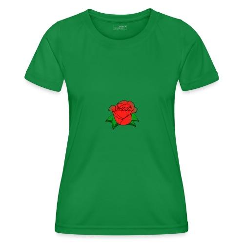 Rosa - Maglietta sportiva per donna