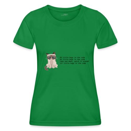 99 litle bugs of code - Functioneel T-shirt voor vrouwen